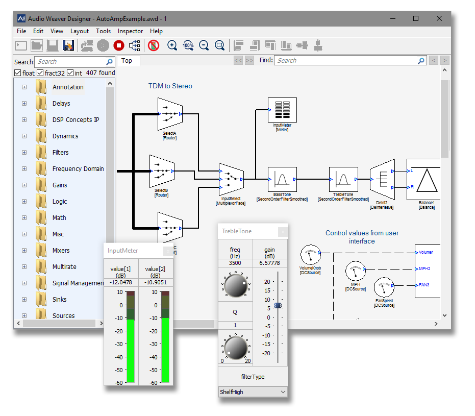 Audio Weaver® for ST Micro | DSP Concepts